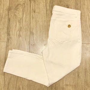 Michael Kors White Capri Pants